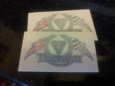 TRIUMPH Thunderbird Pegatinas de la bandera a cuadros,