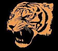 Large Snarling Tiger 559 - Vinyl Sticker / Decal - Custom Made to Order