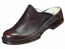 Helix caballero zapatos sandalias Clogs sabot sandalias zapatos de nuevo marrón talla 39-48