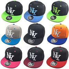 enfants Casquette Snapback NY DE BASEBALL Bonnet Unisexe New York garçons filles