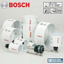 Bosch Hole Saw Cutter Bit HSS Bi-Metal Wood Plastic Quick Change Release Holesaw