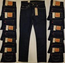 Levis 511 Mens Slim Fit Stretch Dark Blue Jeans Size 32-33-34-36 #045111042 Levi