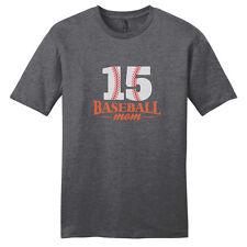 Custom Baseball Mom T-Shirt  -  Women's  Personalized Sports Shirts - Unisex Fit