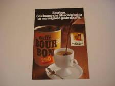 advertising Pubblicità 1976 CAFFE' BOUR BON