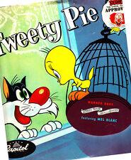 Tweety Pie-Warner Bros Looney Tunes-78 Record