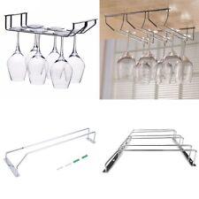 Cup Stand Display Hanging Shelf Wine Glass Holder Stemware Goblet Rack