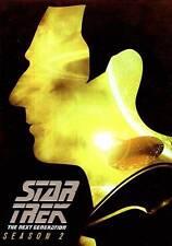 Star Trek: The Next Generation - Season Two 2 (DVD, 2013, 6-Disc Set) NEW