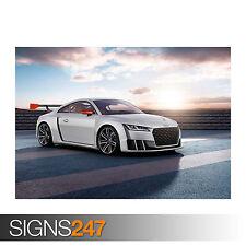 2015 Audi TT Clubsport Turbo concepto (0034) cartel de auto-foto arte cartel impresión