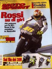 Motosprint 11 2004 Test Honda CBR 1000RR - Kawasaki ZX