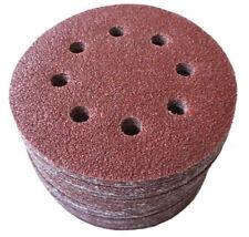 125 mm Schleifscheiben passend für Bosch GEX 125-150 AV P36 P1000 Exzenter red