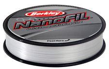 BERKLEY NANOFIL CLEAR - 270m Spools - All Sizes
