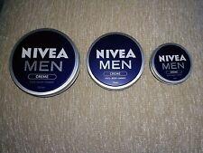 ORIGINAL NIVEA MEN CREAM Creme Face Body&Hands Moisturiser dry skin 30,75,150ml