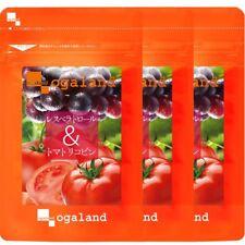 Oga land Resveratrol & Tomato Lycopene Supplement Made in Japan