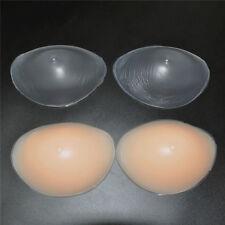 1 Pair Silicone Bra Inserts Breast Enhancer Bridal Bikini Push Up Pad Gel Bra