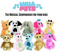 New LullaPets Plush Stuffed Animals Gift Toy Surprise Dog Cat Bear Monkey Bunny