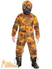 Kids Quarantine Zombie Costume Hazard Halloween Boys Girls Fancy Dress Outfit
