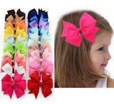 Nuevo estilo de cinta de Grogrén Hair clips Pins Boutique Arco Pelo Clip