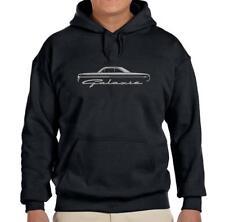 1964 Ford Galaxie Hardtop Classic Black Hoodie Sweatshirt FREE SHIP