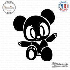 Sticker JDM Panda Manga Decal Aufkleber Pegatinas D-402 Couleurs au choix