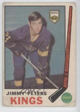 1969-70 O-Pee-Chee #143 Jimmy Peters Los Angeles Kings Hockey Card