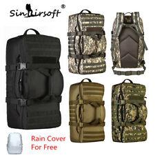 60L Military Tactical Backpack Rucksack Camping Trekking Travel Shoulder Bag