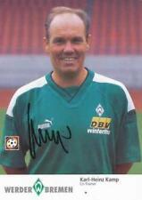 AK 1170 Karl-Heinz Kamp SV Werder Bremen