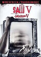 Saw V (DVD-Tobin Bell-Costas Mandylor-HORROR-GORE-ACTION