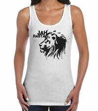 Jah Rasta Reggae Women's Vest Tank Top - Bob Marley T-Shirt