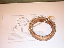 Anello A MAGLIA betulla Strickliesel 24 Ganci & Lavorazione a Maglia Ago strato di legno bastone a maglia