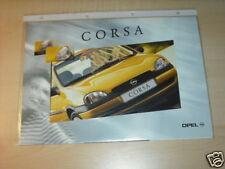 10545) Opel Corsa B France Prospekt 1997