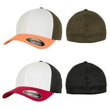 Flexfit 3-Tone Cap Contrast Flex Hat Kappe Baseball Basecap Cappy Schirm Mütze
