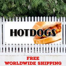 Hot Dogs Advertising Vinyl Banner Flag Sign Many Sizes Weiner Franks Burgers