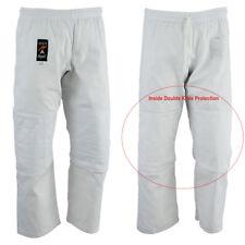 judo blanc pantalon double protection genou pour enfants adultes Pantalon Gi