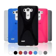 Silikon Hülle für LG G3 S  X-Style + 2 Schutzfolien