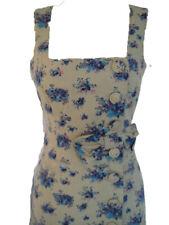 Vestido Vintage Floral Queenie cariño Verde S-XL UK 10-16 PVP 59