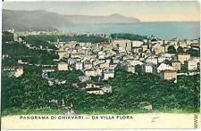 CARTOLINA d'Epoca - CHIAVARI: PANORAMA