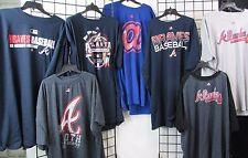 Atlanta Braves Men's 3XL-6XL Big & Tall 2 T-SHIRTS Majestic MYSTERY SHIRT MLB 16
