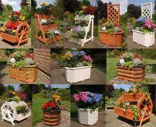 Blumentreppe Blumenleiter Blumenkasten Pflanzkübel Kräuterbeet Hochbeet Holz