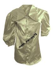 Brownish Gray New 2019 Designer Victorian Shirt Special 3/4 Sleeve shirt S90