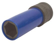 Air Impact Alloy Wheel Nut Socket 17mm - Nylon Sleeve