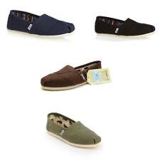 TOMS Authentic MENS Classic Alpargata Slip On Trainers Shoes