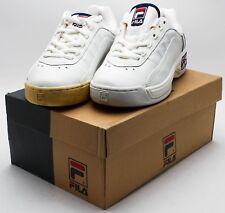 Fila Vintage 1999 Emperia shoes 12T813-127 White/Navy/Red sz. 7
