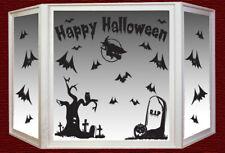 Halloween window and wall vinyl stickers Happy Halloween