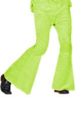 Neongelb Schlaghose Männer Hose neonfarben mit Schlag Mottoparty 70er 80er Jahre