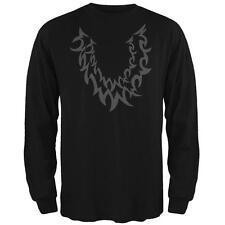 Halloween Wolf Costume Black Mens Long Sleeve T Shirt