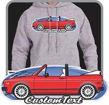 Custom Art Hoodie sweatshirt 80-84-87 VW Rabbit Golf mk1 mkI Convertible Cabrio