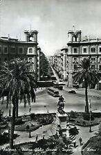""""""" PALERMO : Piazza Giulio Cesare """" Viaggiata Anno 1960"""