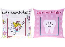 Large Tooth Fairy Money Pillow Kids Secret Wish Note Girls Angel 30cm Cushion