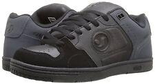 DVS Discord black/grey nubuck leather mens sneakers shoes scarpe da skateboard