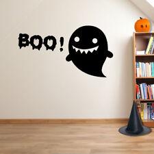 Fiesta de Halloween Boo! Fantasma Espeluznante espeluznante decoraciones de ventana Pegatinas de Pared A122